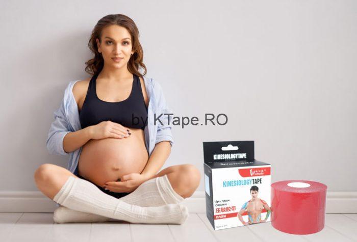 banda kinesiologica la gravide