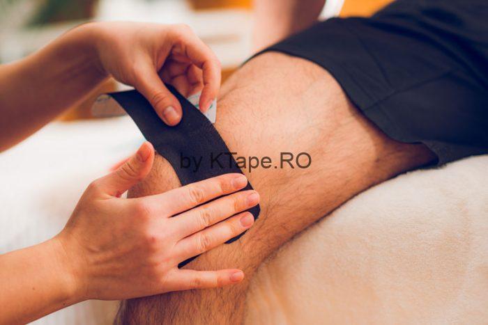 banda-kinesiologica-pentru-genunchi